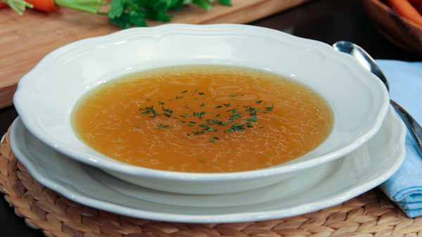 Restorative Vegetable Broth – A Nourishing Soup