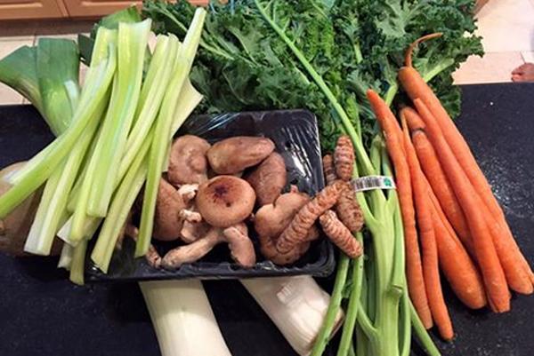 restorative vegetable broth