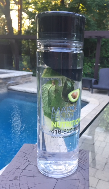 infused water mint cucumber
