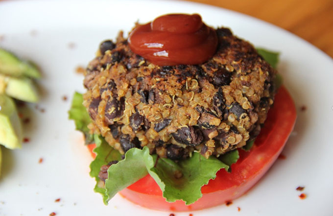 Black Bean Quinoa Burgers Recipe