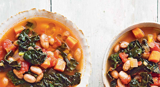 Under the Tuscan Sun Bean Soup