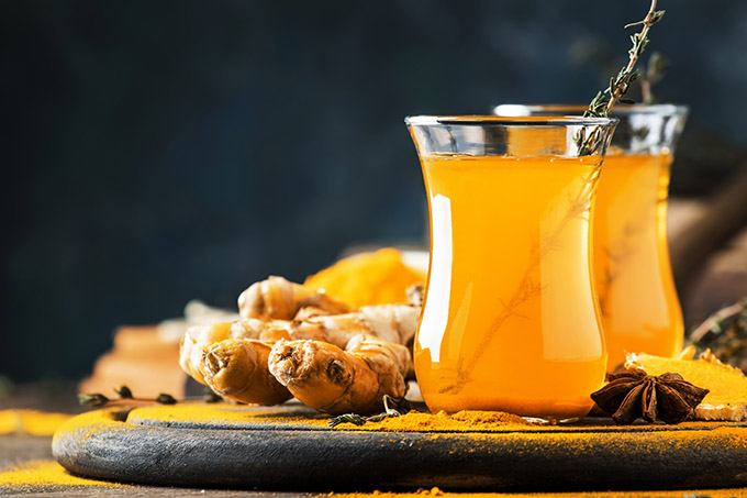 Ginger Turmeric Cinnamon Tea – Anti-Inflammatory