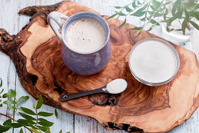 Stepping Up Your Latté & Other Collagen Benefits